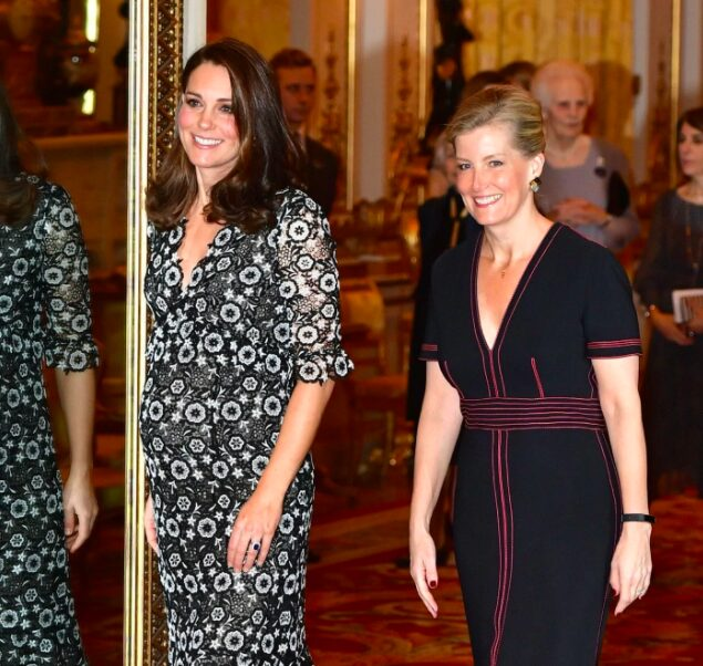 The Duchess of Cambridge and The Countess of Wessex