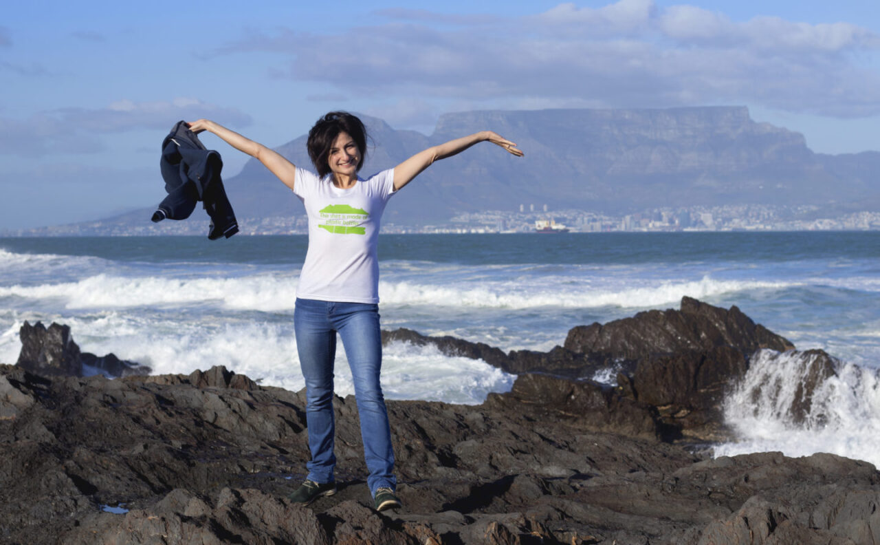 The T-shirt that keeps plastic bottles out of the ocean