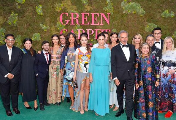 Our favourite looks from the Green Carpet Fashion Awards in Milan