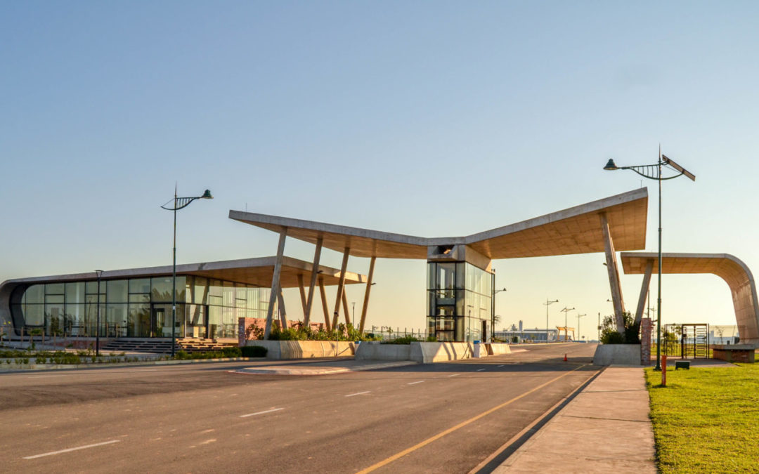Architect of Change 6: Jeremy Steere's gateway is a bold and environmentally-sensitive statement