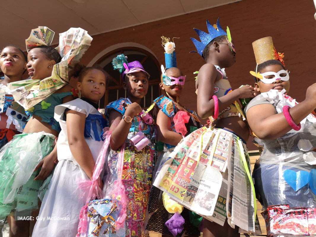 Midlands Trashion Show Makes Recycled Plastic look Fantastic