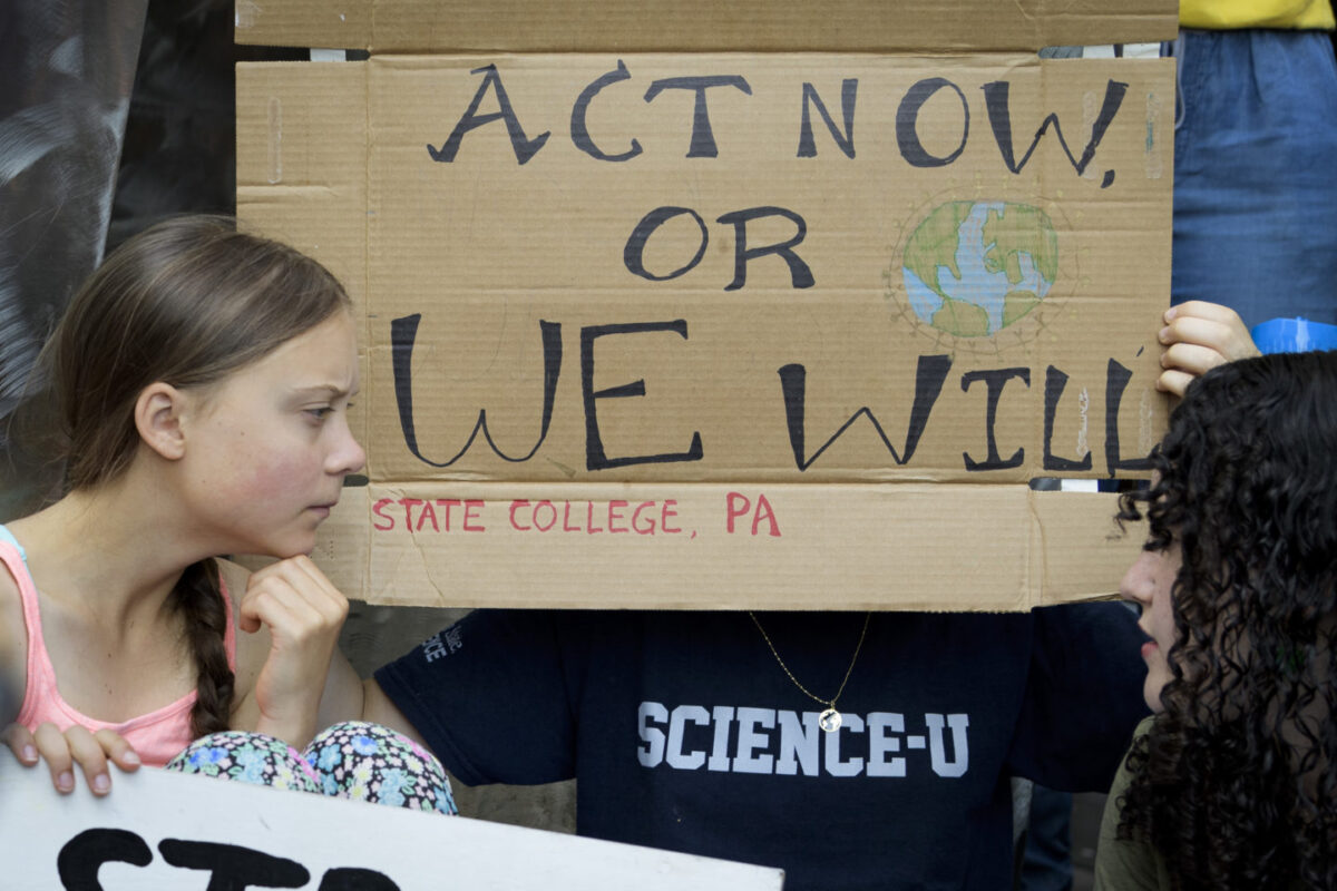 """Greta Thunberg: """"Change Is Coming, Whether You Like It Or Not"""""""
