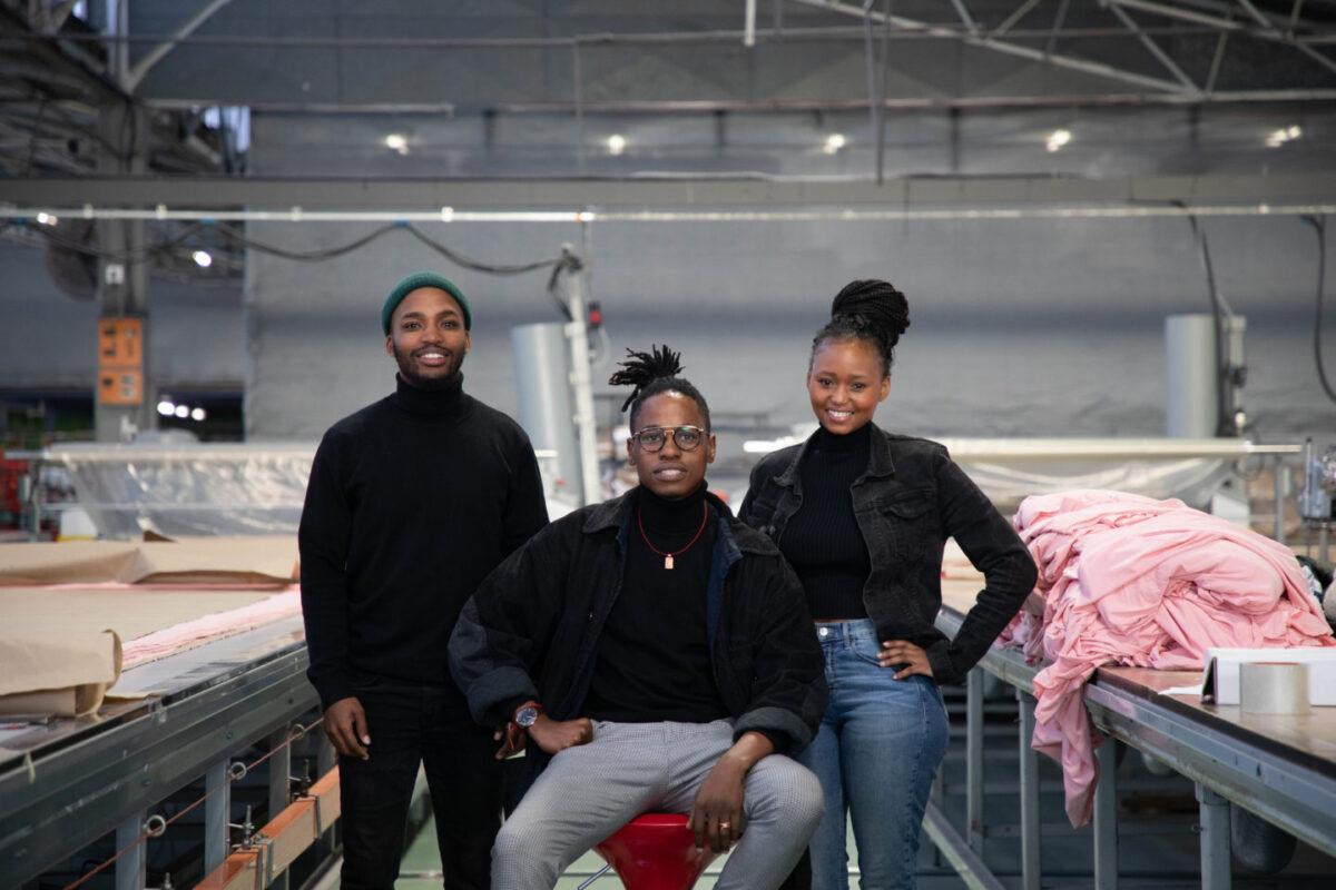 Meet the Trio Who Weaves Fashion Waste into Fashion Fabric