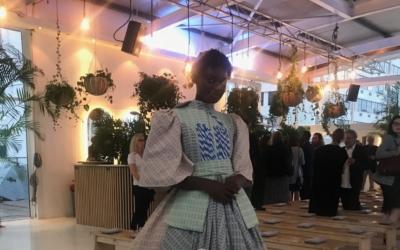 Spinning a local yarn for designer Mzukise Mbane's cotton dress