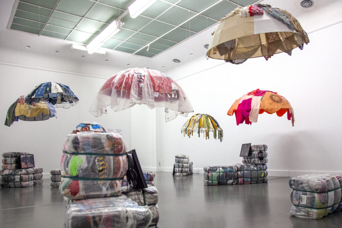 Designer tracks Europe's throwaway clothing to Salaula market in Zambia