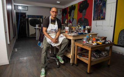 Q&A: Artist Victor Ehikhamenor confronts environmental pollution and other hot topics