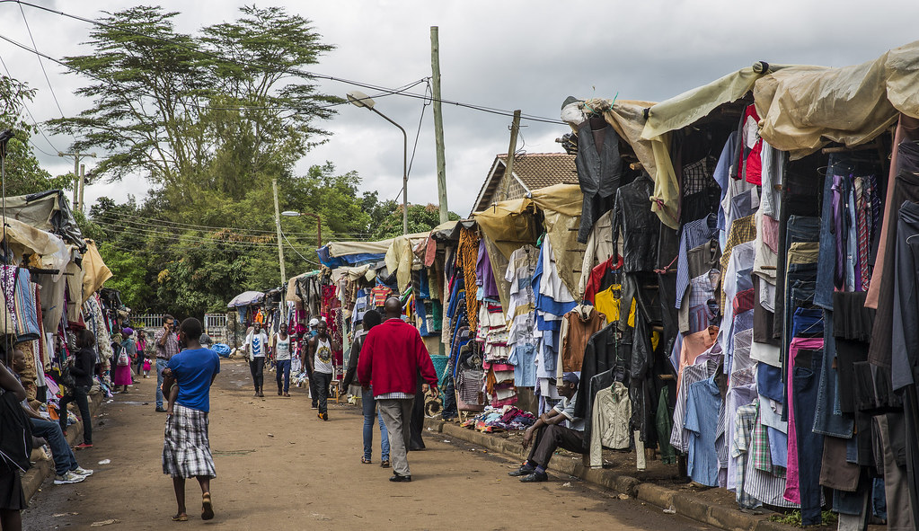 Unpacking secondhand clothes in Africa