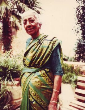 Pavs Pillay's grandmother, Mrs Thayanagee Perumal Pillay. PHOTO: Supplied
