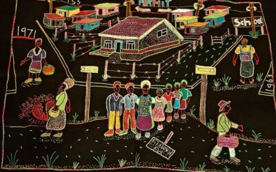 How embroidery broke the silence around women's apartheid trauma