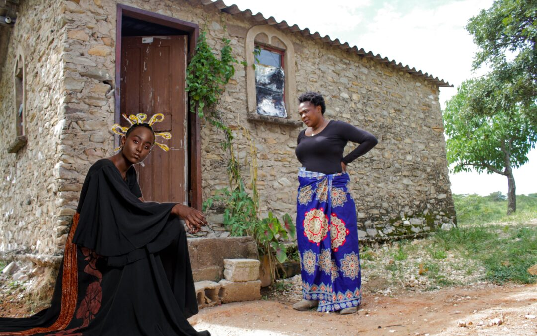 Zambian designer Betty Chilonde makes clothes in harmony with nature