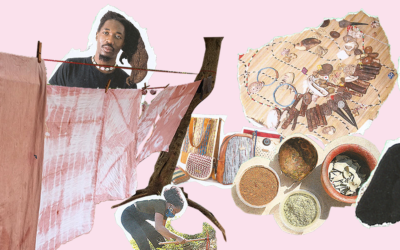 Fabric of change: Mozambican designer Wacy Zacarias fixes textiles with healing plants