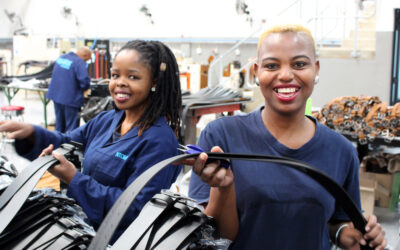 Sustainability Case Study: How SA's biggest belt factory transformed its operations